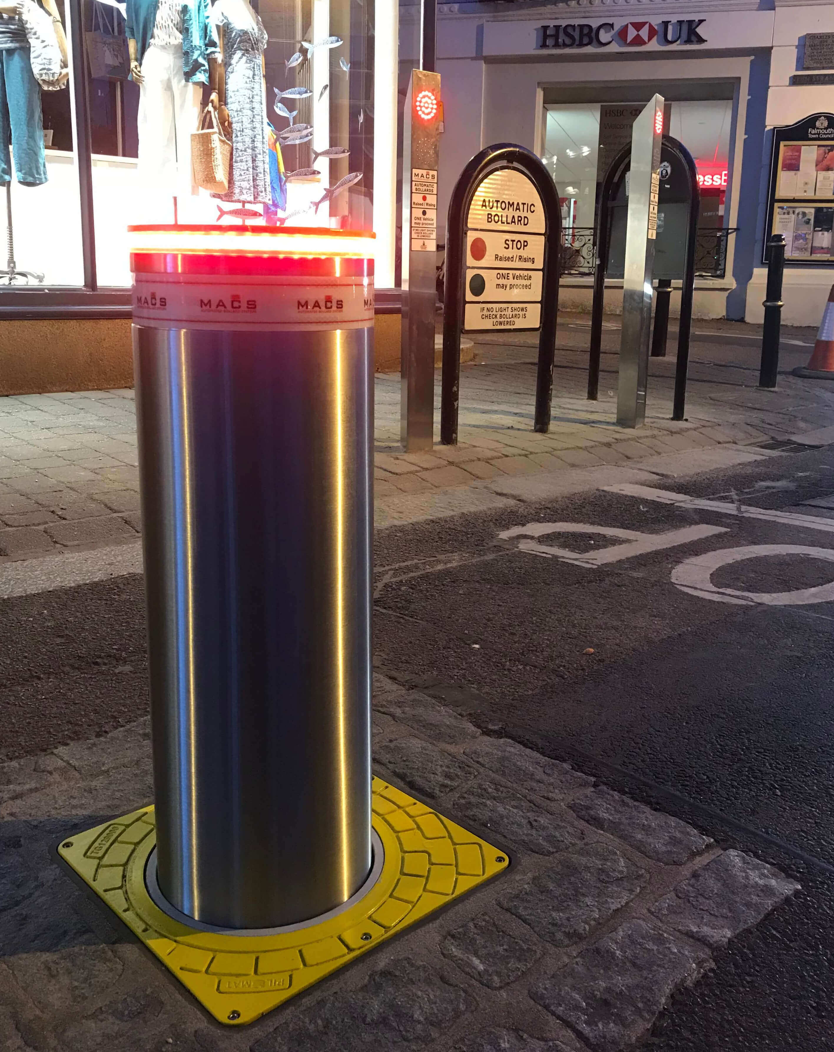 Macs Automated Bollard Systems