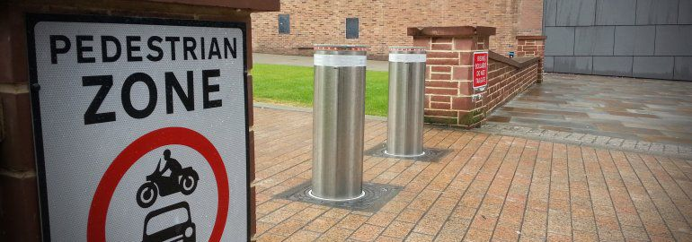 Traffic Calming Measures Security Bollards