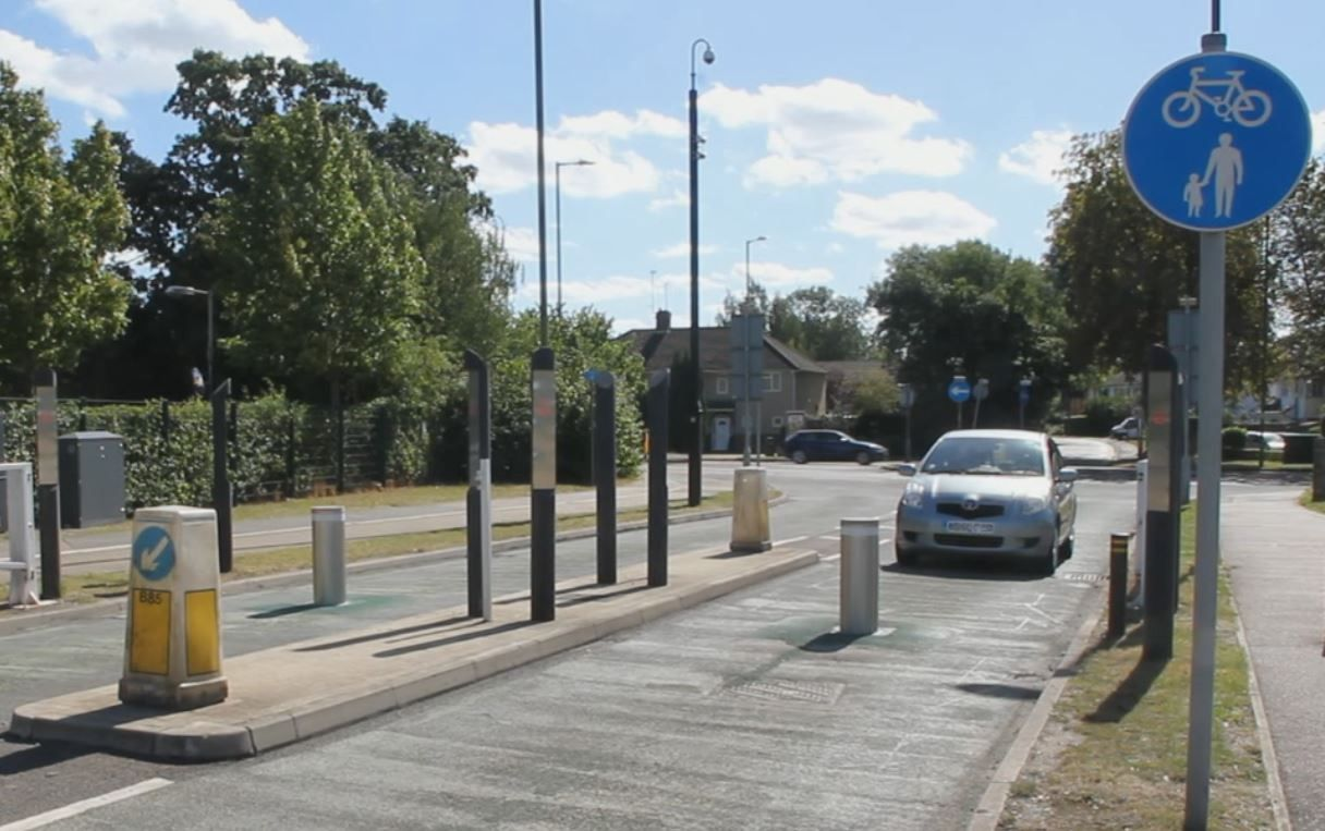 Retractable Bollards - Hatfield